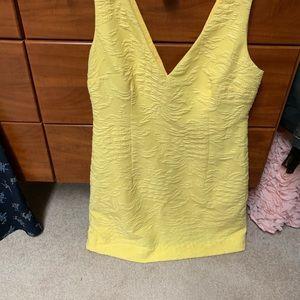 Lily Pulitzer Yellow Pineapple Sheath Dress